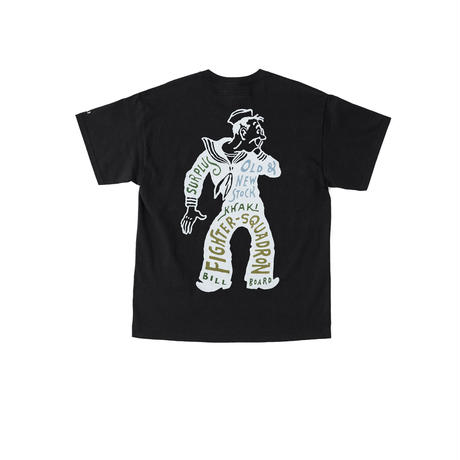 "BILLBOARD(ビルボード) -PRINT T-SHIRTS ""SURPLUS STORE""(BLACK)"