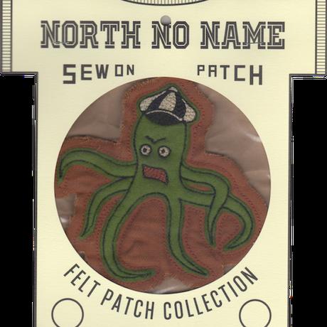 North No Name(ノースノーネーム)-FELT PATCH Octopus