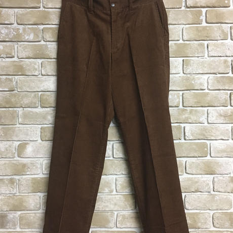 NorthNoName(ノースノーネーム) - CORDUROY PANTS(BROWN)