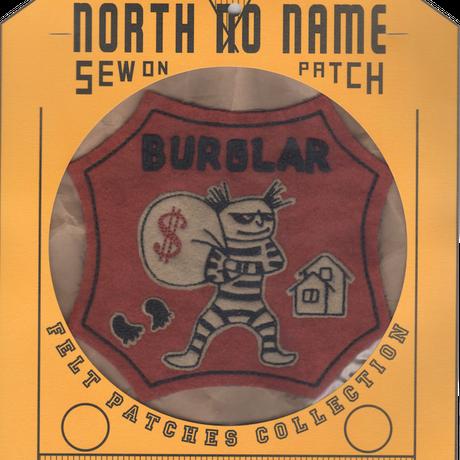 North No Name(ノースノーネーム)-FELT PATCH BURGLAR
