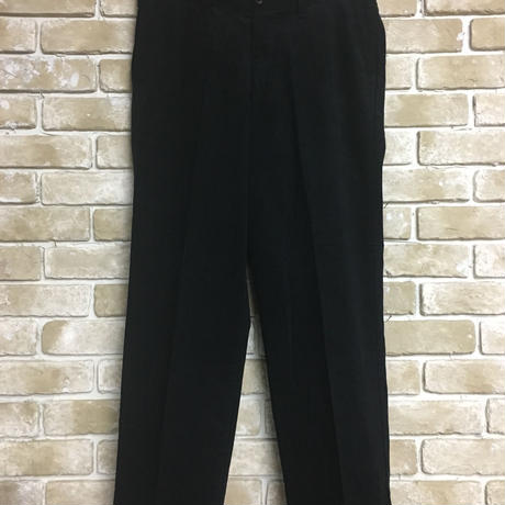 NorthNoName(ノースノーネーム) - CORDUROY PANTS(BLACK)
