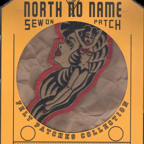 North No Name(ノースノーネーム)-FELT PATCH LADY