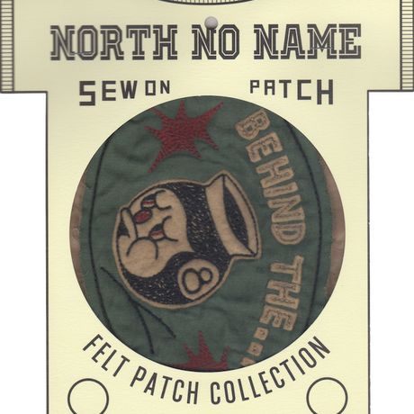 North No Name(ノースノーネーム)-FELT PATCH BEHIND THE...