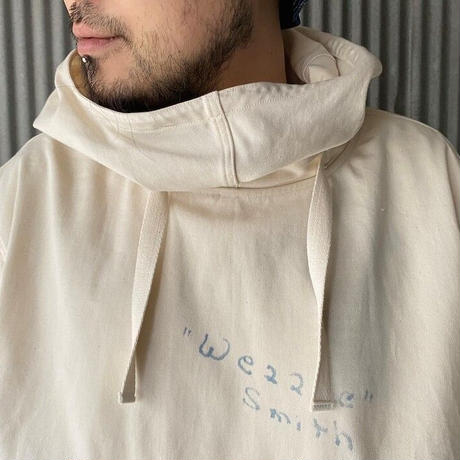 2021 SPRING 先行予約  NorthNoName(ノースノーネーム)-FIHGTING WHALE SALVAGE PARKA(WHITE)