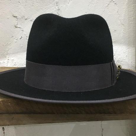 5WHISTLE(ファイブホイッスル) -TIGER FACE FELT HAT(BLACK)