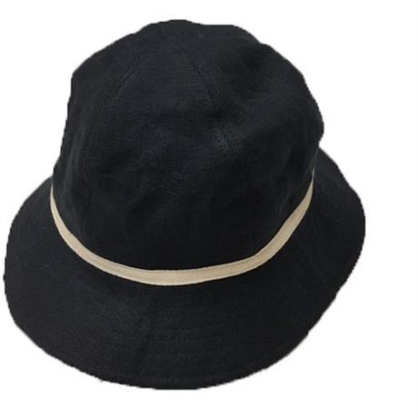 NorthNoName(ノースノーネーム)-LINEN HAT(BLACK)