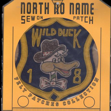 North No Name(ノースノーネーム)-FELT PATCH (WILD DUCK)