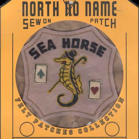 North No Name(ノースノーネーム)-FELT PATCH SEA HORSE