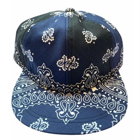 2 tone bandanna hat