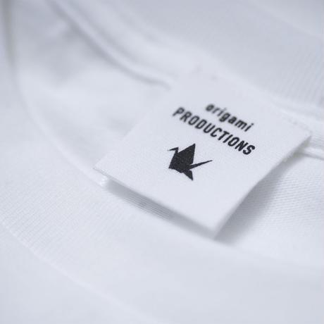 origami - Tシャツ (ホワイト) [Ladies']