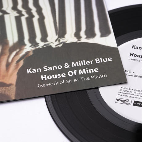 [7inch] Kan Sano & Miller Blue - House Of Mine / Sit At The Piano