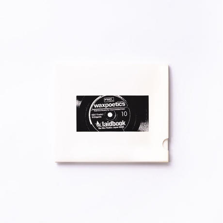 [CD] laidbook - laidbook10 The Wax Poetics Japan ISSUE
