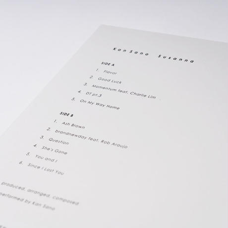 [LP] Kan Sano - Susanna