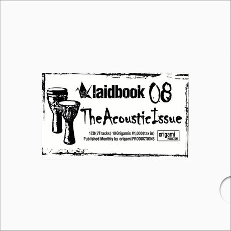 [CD] laidbook - laidbook08 The ACOUSTIC ISSUE