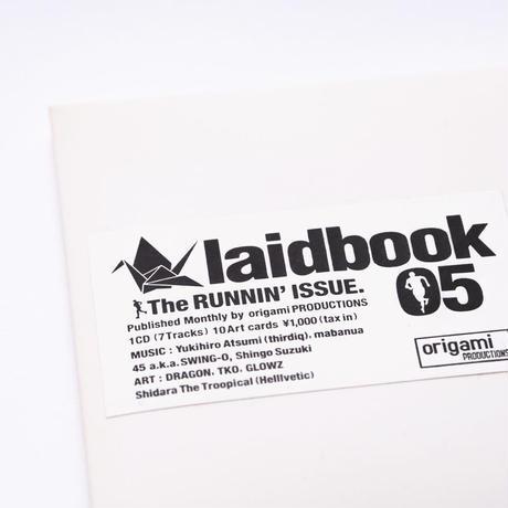 [CD] laidbook - laidbook05 The RUNNIN' ISSUE