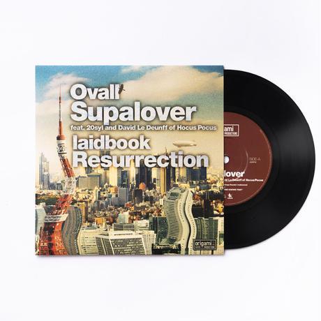 [7inch] Ovall - Supalover / laidbook - Resurrection