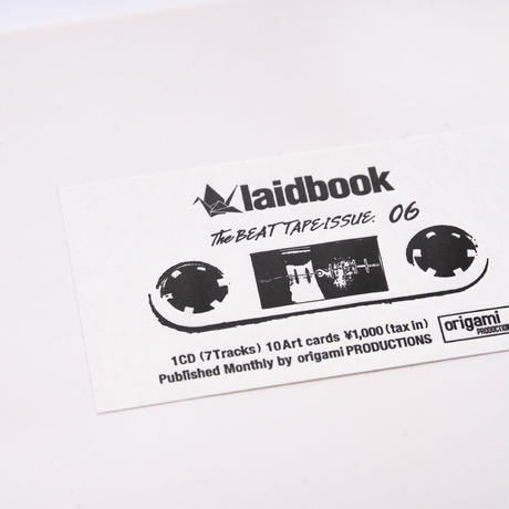 [CD] laidbook - laidbook06 The BEATTAPE ISSUE