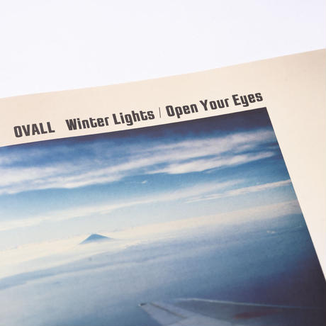 [7inch] Ovall - Winter Lights / Open Your Eyes