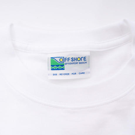 """Michael Kaneko × OFFSHORE """"SAVE OUR WATERS"""" Tシャツ (ホワイト)"""