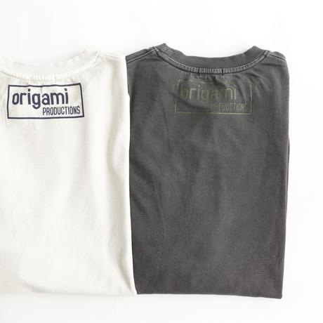 origami - antiqua コラボTシャツ (スミクロ)