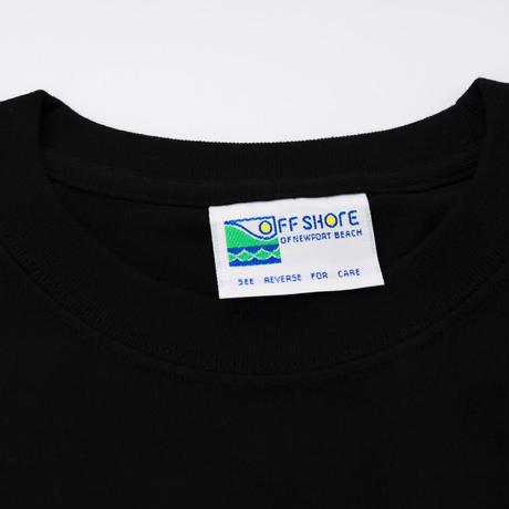 Michael Kaneko × OFFSHORE - ポケットTシャツ (ブラック)