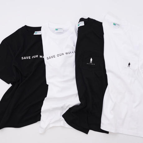 Michael Kaneko × OFFSHORE - ポケットTシャツ (ホワイト)