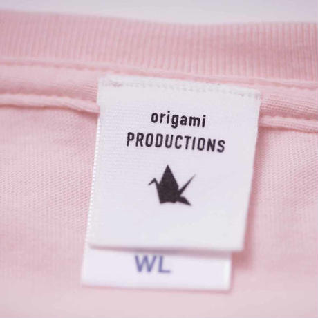 origami - Tシャツ (ピンク)