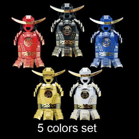 【5 colors set 】【Free shipping】 Origami Samurai