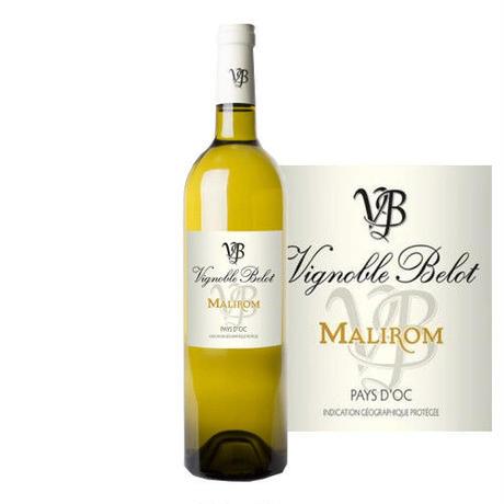 フランス 白ワイン ラングドック ヴァン・ドゥ・ペイ・ドック ドメーヌ・ベロ キュヴェ マリロン・ブラン 2016  750ml