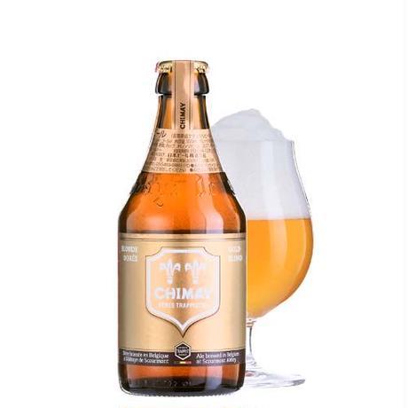 【ビールとチョコレートのギフト】ベルギー産クラフトビール「シメイ ゴールド」330mlとベルギーチョコレートアソート20枚入り