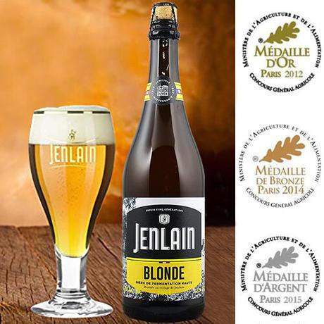 《敬老の日》【ビールとおつまみのギフト】フランスのクラフトビール 750ml「ジャンラン・ブロンド」と『グーリブール』チーズサブレ(OG16-JBBCSC)