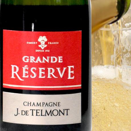 《父の日ギフト》【シャンパンとスイーツのギフト】フランス「グラン・レゼルブ・ブリュット」辛口 375mlと「レ・カカオ」焼き菓子5種の詰め合わせ