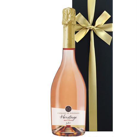 《結婚祝い》《結婚祝い》【ワインギフト】南フランスのロゼスパークリングワイン 『ジャイアンス』「クレマン・ド・ボルドー・エリタージュ・ロゼ」750ml 辛口 (OG15-JACIRO)