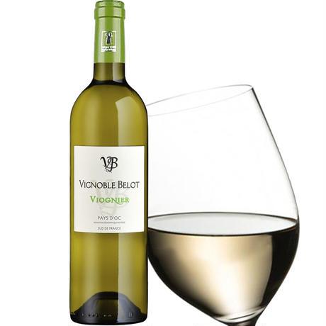 《ハロウィン》【ワインとグルメギフト】フランスの白ワイン ドメーヌ・ベロ「ヴィオニエ」2020年 750mlとグロワ・エ・ナチュール「貝柱のリエット」(OG15-BCLGSJ)