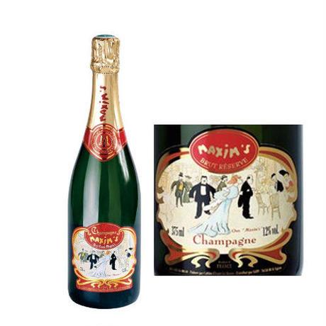 ◆送料無料◆ フランス シャンパン「マキシム・ド・パリ・ブリュット」 750ml(61CMPBMNC0)