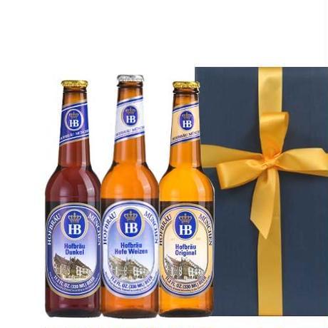 ◆送料無料◆【ビールギフト】ドイツビール 飲み比べ 330ml×3本 詰め合わせギフトセット 地ビール(OG96-GHOWDO)