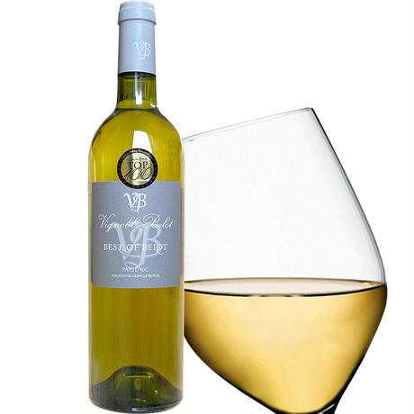《敬老の日》【ワインとおつまみのギフト】 南フランスの白ワイン『ドメーヌ・ベロ 』「ベスト・オブ・ベロ」と『クーリーブス』チーズ入りサブレ(OG15-BEBCSC)
