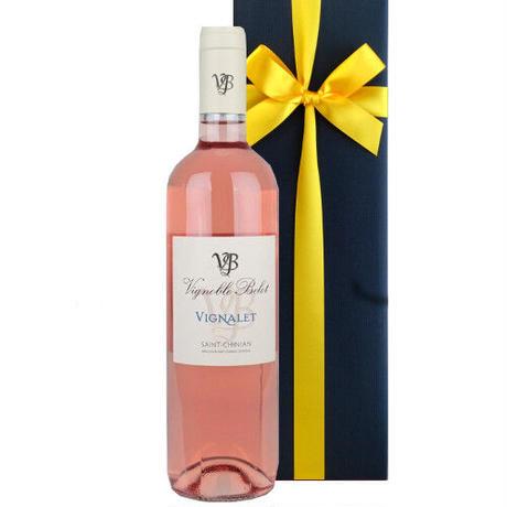 《お祝いギフト》南フランスのロゼワイン、 サン・シニアン「 ル・ヴィニャレ・ロゼ」 ドメーヌ・ベロ 2019年 750ml 女性への贈り物に