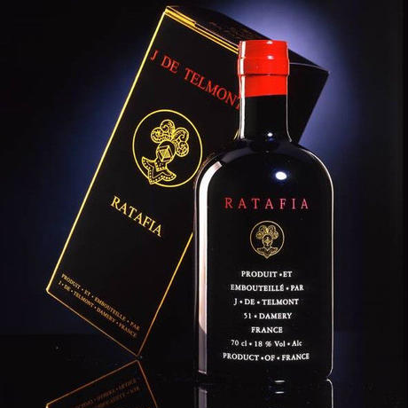 ラタフィア 酒精強化ワイン フランス シャンパーニュ 「ジャック・ド・テルモン」700ml ブランデー