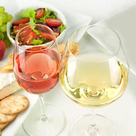 《お祝い》【ワインギフト】南フランスのロゼワイン「 ル・ヴィニャレ・ロゼ」とボルドーの白ワイン「シャトー・ローレ」各750ml(OG95-311110)