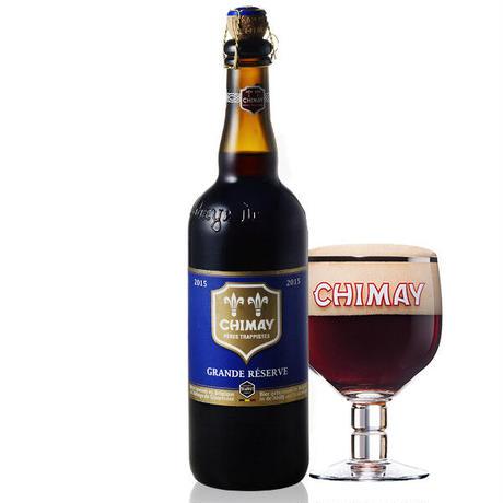 《父の日》【ビールとお箸のギフト】ベルギー産 クラフトビール「シメイ ブルー グランドレザーブ」750ml と日本製お箸/箸置きのギフト (OG00-BCBACB )