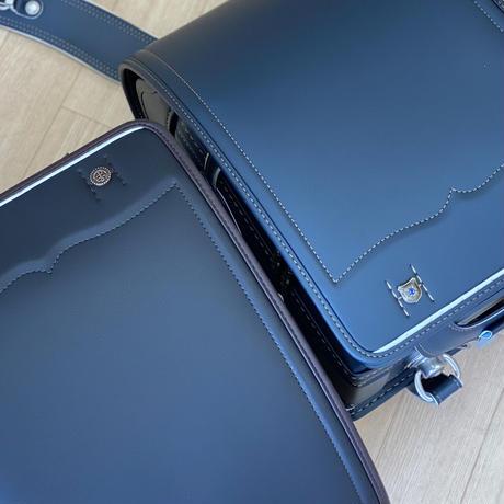 プリオ  12FW カザマランドセル(ブラック・ダークブルー ・キャメル) 全3 色