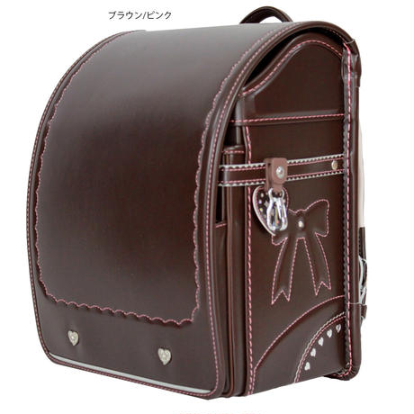 リボンガール 27105 キッズアミ  (メタリックストロベリー  ・メタリックラベンダー ・ブラウン/ピンクステッチ) 全3色
