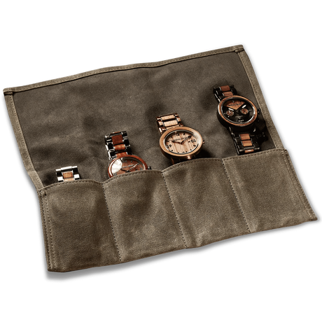 The Watch Case - The WAXED CANVAS ROLL