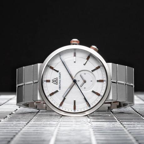 The Sport MNML 43mm - Walnut Silver