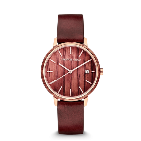 The Modern MNML 36mm - Wine Stained Oak Gold