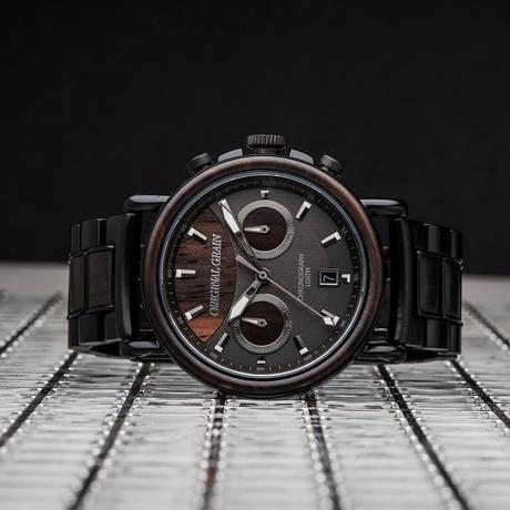 The Alterra Chronograph 44mm - Blackwood
