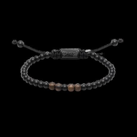 Macrame Bracelet 5mm - Ebony/Onyx