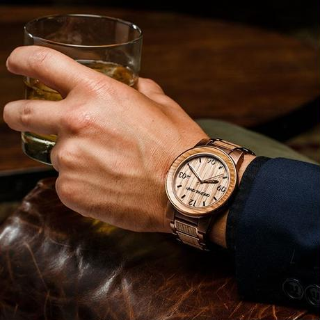 The Barrel 47mm - Whiskey/Espresso/Barrel/Wood Dial