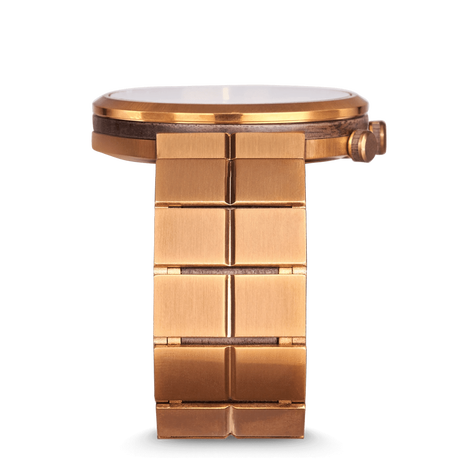The Sport MNML 43mm - Walnut Bronze